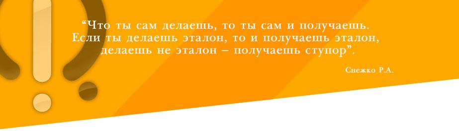 фраза Снежко Р.А. о принцепе действия он-лайн версии програмы ЭТАЛОН
